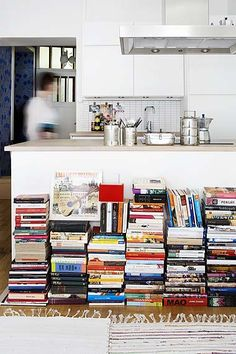 "more books in a boho home -  Have I a ""boho homes"" with all my ""books' piles"" ???? ;-)"