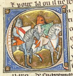 Lancelot du Lac, MS M.805 fol. 133v - Images from Medieval and Renaissance Manuscripts - The Morgan Library & Museum