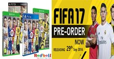 FIFA'17 game for kids pre-order online now!  #fifa17 #ps4 #xbox #games