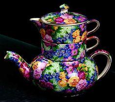 Royal Winton Julia Stacking Teapot