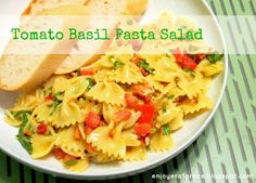 enjoyer of grace: [INSPIRED BY] LA MADELEINE'S TOMATO BASIL PASTA SALAD + DAY 3