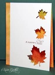 handmade fall cards - Google Search