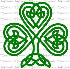 Celtic Knot Heart SVG File PDF / dxf / jpg / png / Irish svg file for Cameo, svg file for Cricut & other electronic cutters Celtic Tree, Irish Celtic, Irish Font, Shamrock Clipart, Saint Patricks Day Art, Celtic Quilt, Celtic Shamrock, Celtic Knot Designs, Celtic Symbols