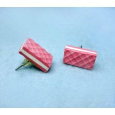 Cubanito,fimo, handmade,hecho a mano,polymer clay,earrings,pendientes,cake,cookie,