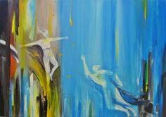 "Saatchi Art Artist André Pillay; Painting, ""Enigma 2"" #art  #paintings  #abstractart  #WallArt  #SaatchiArt"