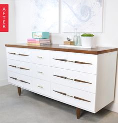 Before & After: A Fresher Dresser | Apartment Therapy