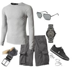 Casual Confidence, created by keri-cruz on Polyvore