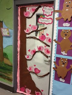 Life in First Grade: Valentine's Door and Tornadoes!