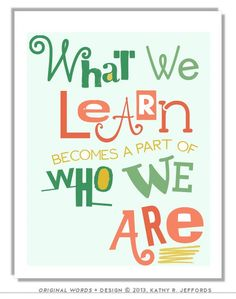 Who do you want your child to become?   #learning #educ