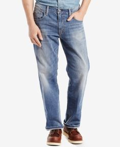 Levi's 569 Loose Straight Fit Jeans - Blue 40x30