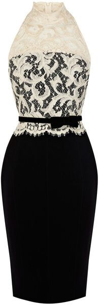 KAREN MILLEN ENGLAND Colourful Lace Dress - Lyst