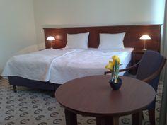 https://flic.kr/p/H1yems | Pokoje gościnne - Astoria Romantica Swarzędz | Pokoje w Astorii Romantica Wyposażone są w biurko do pracy, stolik z fotelem, telefon, wygodne łóżko, szafki nocne z lampkami oraz łazienkę z kabiną prysznicową lub wanną. W każdej łazience znajdują się: przybory toaletowe (szampon, żel pod prysznic), suszarka do włosów oraz komplet ręczników. Ponadto, cena pokoju obejmuje również parking. Mając świadomość, że dostęp do internetu stał się standardem, każdy pokój…