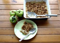 Almond Flour Apple Crumble - Powered by @ultimaterecipe