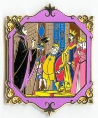 Pin 33277: M&P - Sleeping Beauty (4 pin set) - Maleficent Before the Court