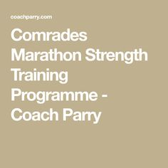 Strength Training Program, Training Programs, Marathon, Programming, Running, Workout Programs, Marathons, Keep Running, Why I Run