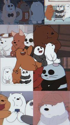 Trippy Wallpaper, Bear Wallpaper, Galaxy Wallpaper, Cartoon Wallpaper, Ice Bear We Bare Bears, We Bear, We Bare Bears Wallpapers, Panda Wallpapers, Bear Meme