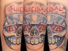 ST Mexican skull