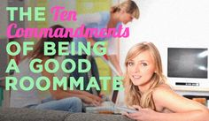 Being a Good Roommate