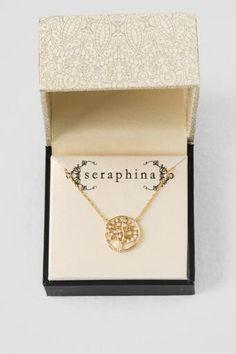 Seraphina Tree of Life Pendant Necklace