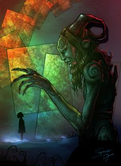 Fan art of Pan's Labyrinth. Labyrinth Tattoo, Ancient Mysteries, Labrynth, Fan Art, Sacred Art, Satyr, Fantasy Art, Fairy Tales, Artwork