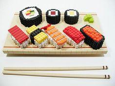lego sushi..yes cultural legos