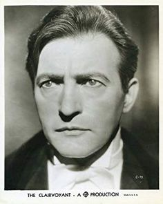 Claude Rains in The Clairvoyant Vintage Hollywood, Classic Hollywood, Claude Rains, Lawrence Of Arabia, Invisible Man, British American, Clark Gable, Joan Crawford, Phantom Of The Opera