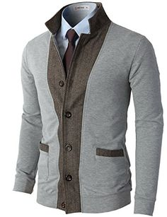 H2H Mens Two-tone Herringbone Jacket Cardigans LIGHTGRAY US L/Asia XL (JLSK03) H2H http://www.amazon.com/dp/B00PVXG0P0/ref=cm_sw_r_pi_dp_uvjiwb0VA9QT0