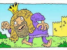 FreeBibleimages :: Nebuchadnezzar - a very proud king :: Proud King Nebuchadnezzar is humbled by God (Daniel