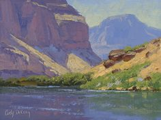 Lazy Day On The River, Grand Canyon 9x12 by Cody DeLong ~ x