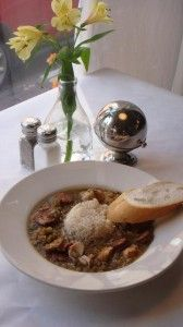 Contemporary setting in French Quarter serving Cajun/Creole favorites. Wonderful windows to watch people while dining. Casual yet upbeat and offers a BYOB policy with no corkage fee.