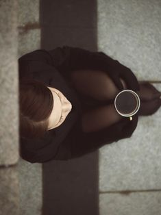 Solitude & Coffee. [photographer unknown]