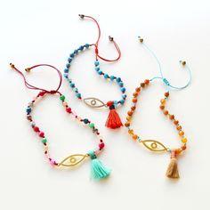 Tassel Necklace, March, Bracelets, Jewelry, Flower, Hand Crafts, Arm Candies, Hardware Pulls, Knots