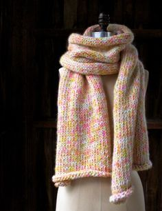 Confetti Scarf | The Purl Bee