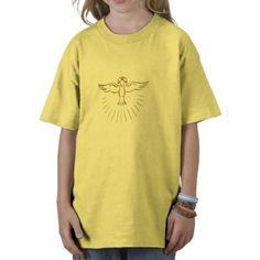 """Golden """"3-D"""" Ascent of The Holy Spirit T Shirt.  $23.95"""