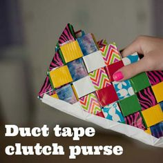 Duct Tape DIY - Wallets, Wristlets & More! -Momo