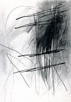 graphite on paper -by Gerhard Richter