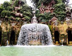 Villa D´Este #Tivoli #Italy #Photography #Fountain