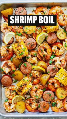 Easy Healthy Recipes, Easy Dinner Recipes, Breakfast Recipes, Seafood Dishes, Savoury Dishes, One Pot Meals, Southern Recipes, Shrimp Recipes, I Love Food