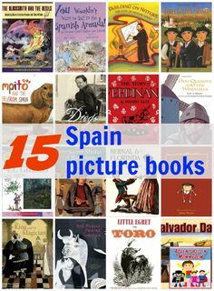Spain picture books for kids