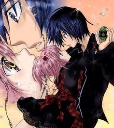 Shugo chara. I've just started this anime