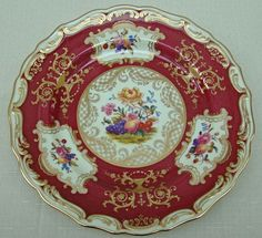Vintage Spode Bone China Desert/Luncheon Plate Coplands Pattern Y553 – Made for Tiffany & Co