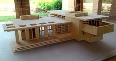 Frank Lloyd Wright's Usonian Home: The Gordon House - Silverton, OR