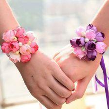 How to make wrist corsage diy 11