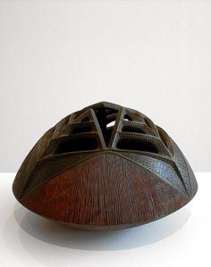 Rolly Munro | 'Puhapuha'  Kauri wood, dye