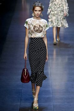 Dolce & Gabbana Ready To Wear Spring Summer 2014 Milan