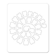 Sizzix.co.uk - Sizzix Sizzlits Die - Flower, Rose 3-D