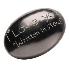 I Love You Gift Stone | Valentines gifts for long distance boyfriend