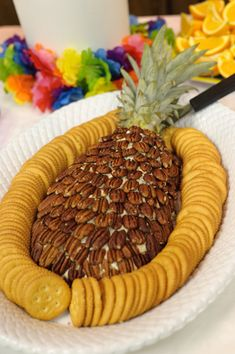 pineapple dip {luau party}