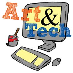 Blog Post: Using technology in art. Affordable, often free solutions. Websites, resources, and brainstorming of how you can successfully integrate technology into your art curriculum for little or no cost to you!