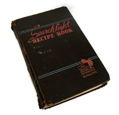 Vintage Household Magazine 1942 Cook Book. by MerrilyVerilyVintage